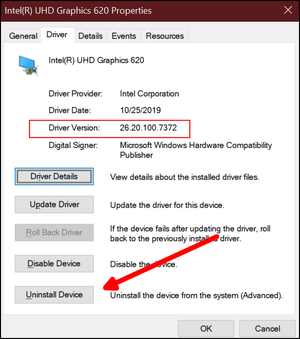 Rollback Drivers in Windows 10