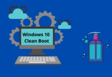 Perform a Clean Boot in Windows 10