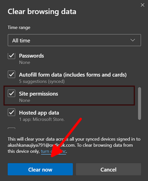 How to enable Quiet Notification Requests in Microsoft Edge